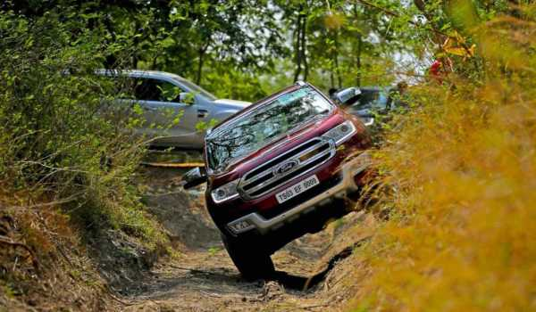 Ford Endeavour Deployed At India-China Border
