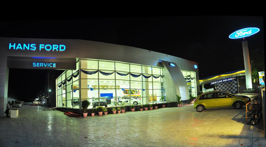 Ford Increases Consumer Accessibility With Its Largest Dealership In India