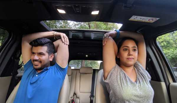 Tackle Stress on Road With Car Yoga